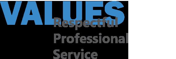 Respectful Professional Service
